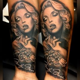 marylin tattoo